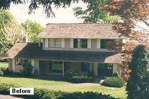 Photo of home before remodeling
